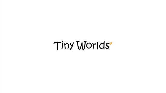 Tiny Worlds עיצוב לוגו ל