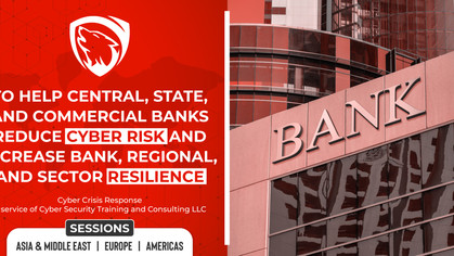 Free Webinar: Cyber Crisis Management Planning (Banking and Financial Services Industry)