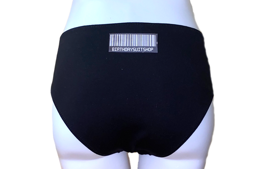 Barcode Hipster Panty