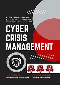 Cyber Crisis Management Program and Cert