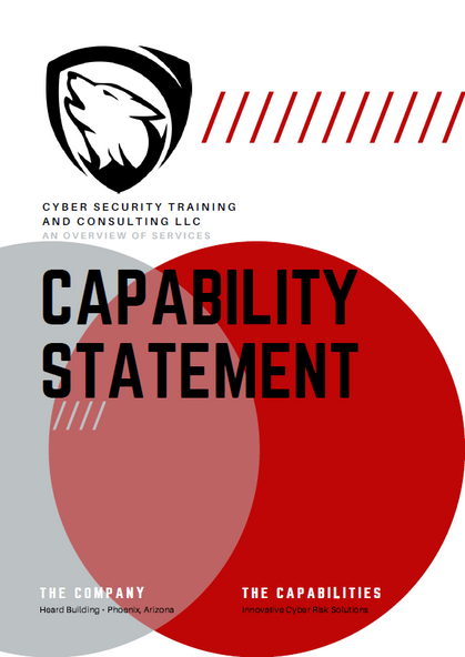 How can we help? The new Capability Statement