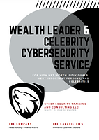 Global Wealth Leader and Celebrity Cyber
