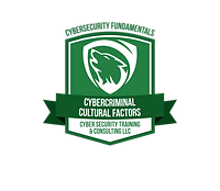 Security Awareness Training Cybercriminal Cultural Factors