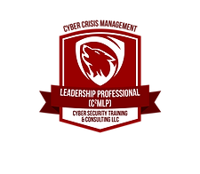 Certification Badge Cyber Crisis Management Leadership Professional