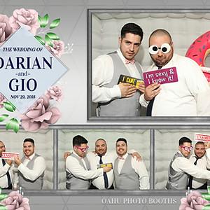 Darian & Gio Tie the Knot