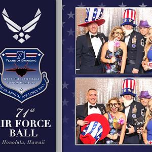 71st Air Force Ball - Honolulu