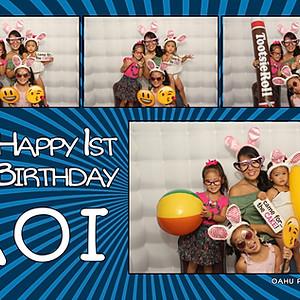 Koi's First Birthday