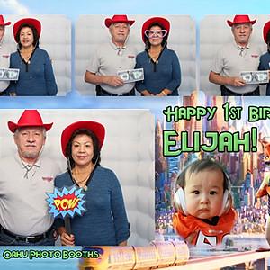 Elijah's First Birthday