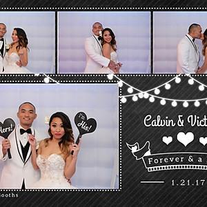 Calvin & Victoria Get Wed