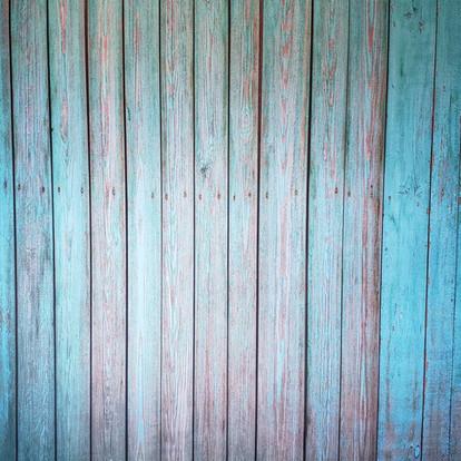 Teal Wood Planks