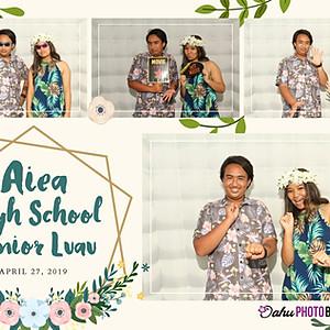 Aiea H.S. Senior Luau