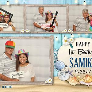 Samiko's First Birthday