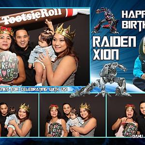 Raiden Xion's First Birthday