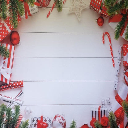 Red White & Green Christmas