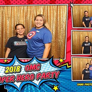 OMC Super Hero Party