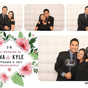 Cina & Kyle Get Wed