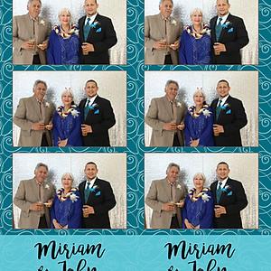 Miriam & John Get Wed!