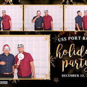 USS Port Royal Xmas Party 2019