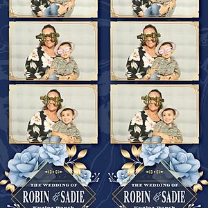 Robin & Sadie Get Wed