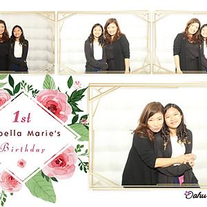 Isabella Marie's 1st Birthday