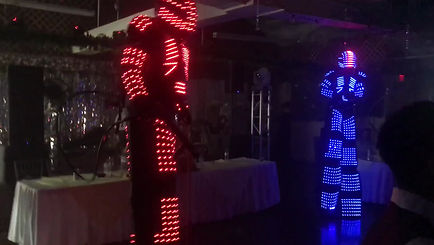 LED Robots with Co2 tanks