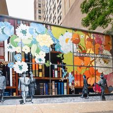 Mercantile Library Mural