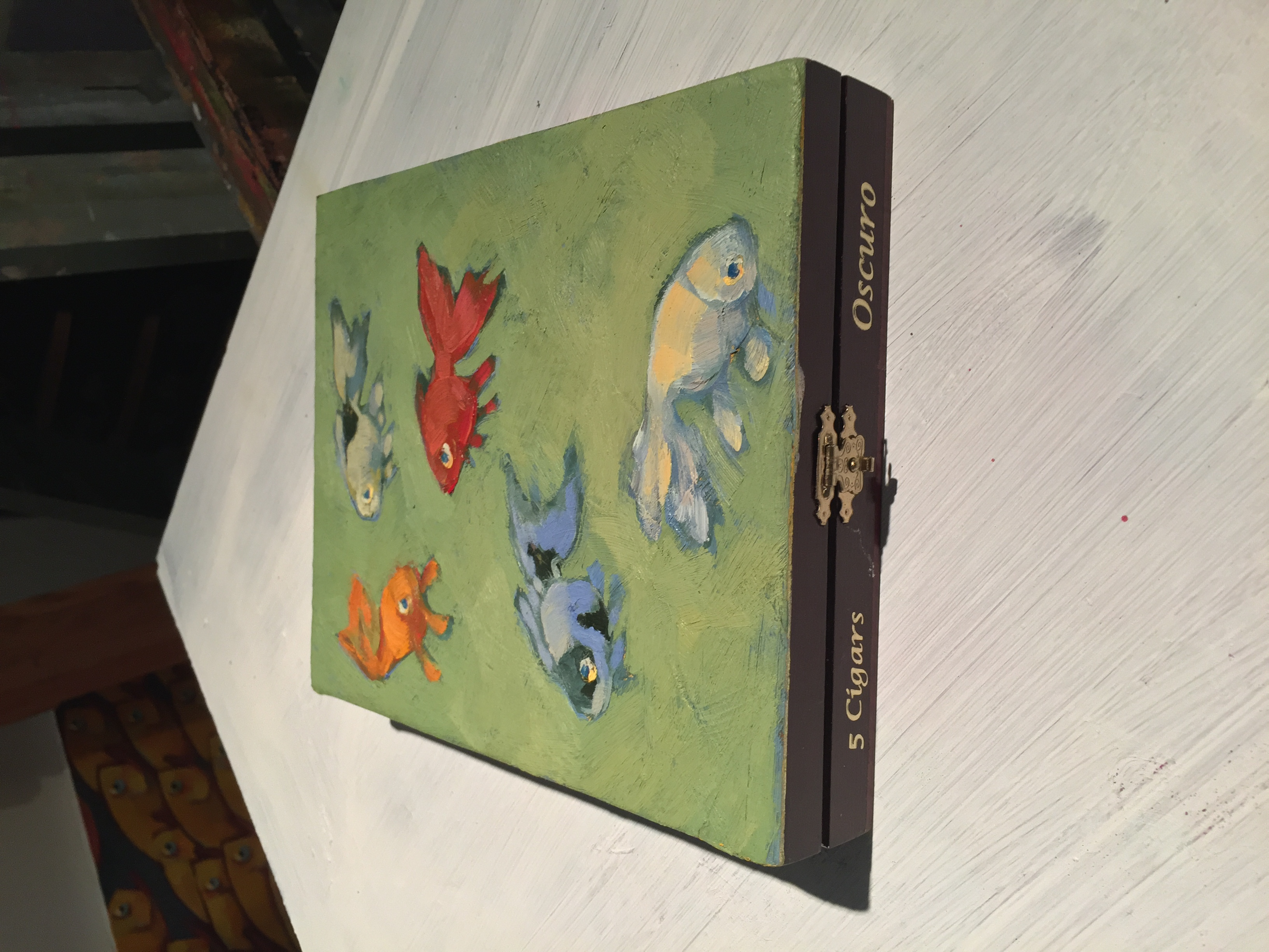 Goldfish Cigar Box