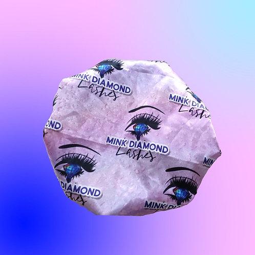 Mink Diamond Lashes Brand Hair Bonnet