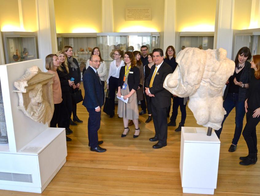 Visit of EUNIC @ Fitzwilliam Museum