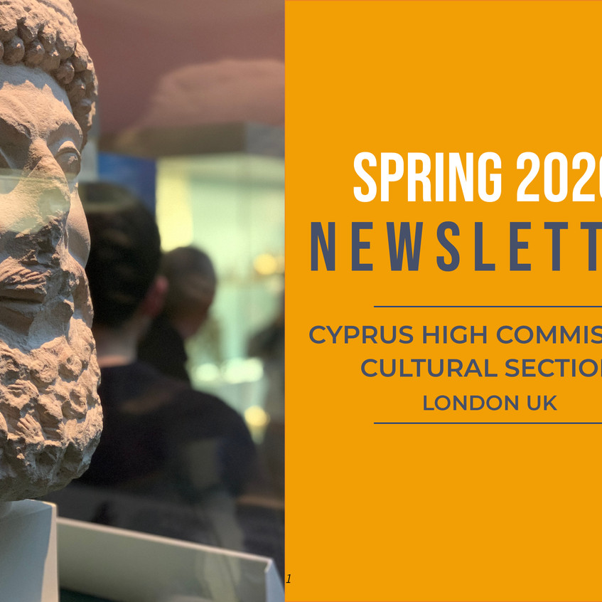 Spring 2020 Newsletter Cyprus Cultural S