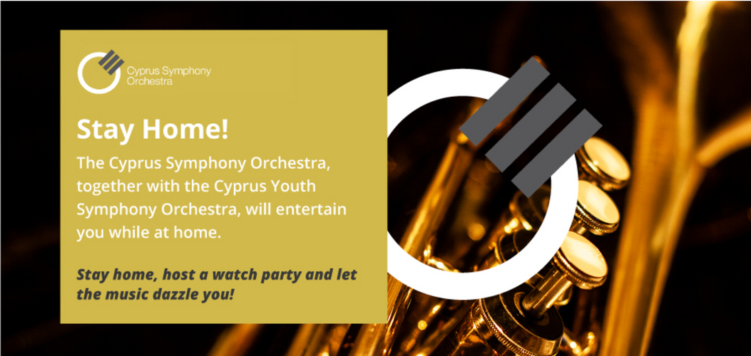 STAY AT HOME WITH OUR SYMPHONY ORCHESTRAS