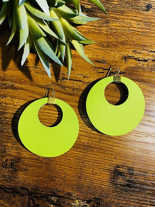 Neon hoops