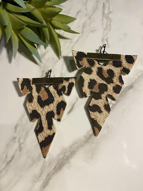 Modern triangle leopard