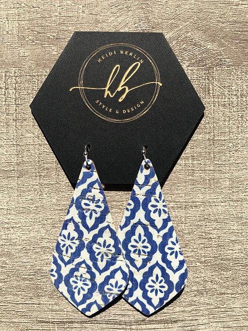 Textile print dangle