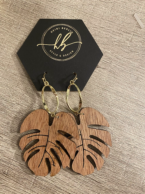 Wooden palms