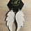 Thumbnail: Gorgeous leather glitter angel wings
