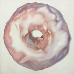 """Vanilla, 36""""x36"""", Oil on Canvas"""