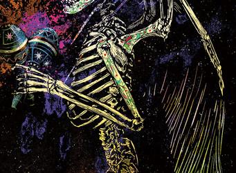 「死の日」第5版の国際ポスター展