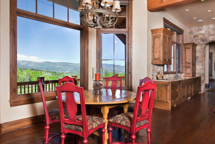 Red Sky Ranch Breakfast Nook with View.j