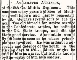 Atherates H. Atkinson