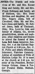 Lena Bell Hall Jones