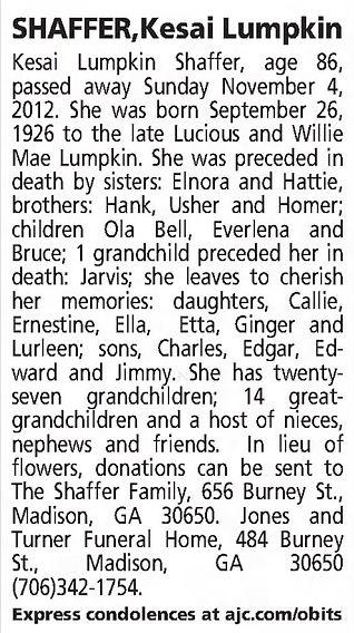 FuneralNotice_SHAFFER-KesaiLumpkin-2012.