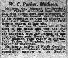 William Carey Parker