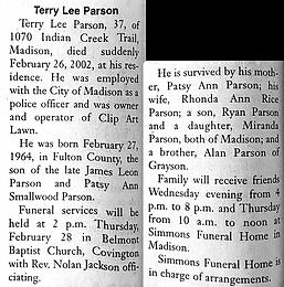 Terry Lee Parson