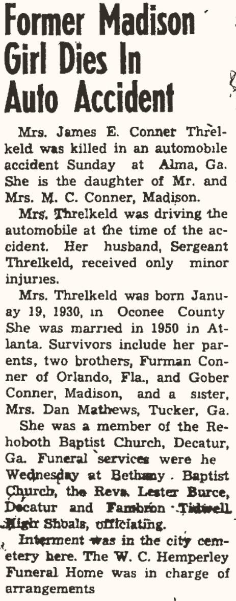 Threlkeld Lela Nell Conner Jun 3 1954 Ma.jpg