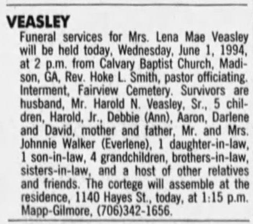 FuneralNotice_VEASLEY_LenaMae_1994.jpg