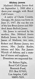 Robert Mickey James