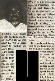 Franklin Keith Jones