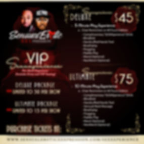 VIP SEXXXperience Promo