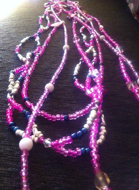 Pink Waistbeads  2 for 25.00